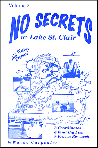 Fishing Hot Spots Capt Wayne Carpenters Bass To The Future Page - Lake erie fishing hot spots map