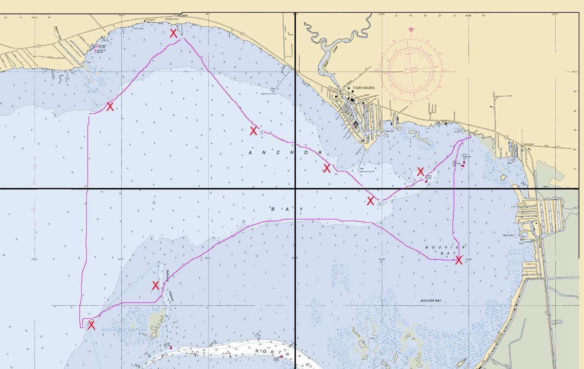Lake st clair fishing report capt wayne carpenter 39 s for Lake erie perch fishing hot spots