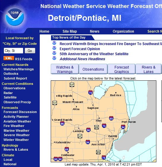 National Weather Service - marine.weather.gov