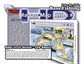This chart book with put you on more quality bass fishing spots on Lake St. Clair than any other product on the market